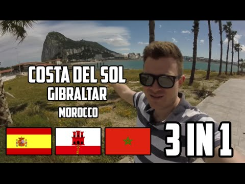 I CAN SEE 3 COUNTRIES FROM HERE! Spain + Gibraltar + Morocco (PART 1)