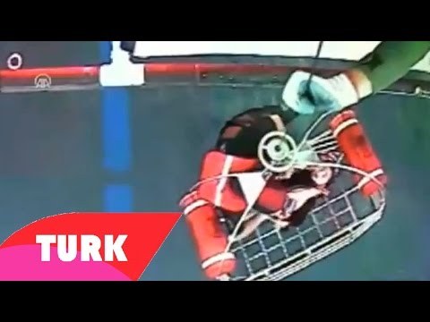 Turkish Coast Guard Helicopter Rescues Syrian Baby On High Seas
