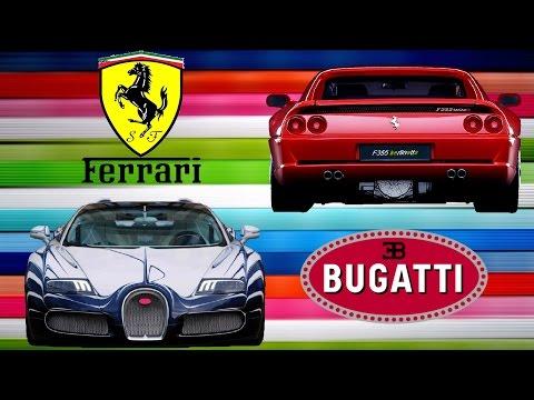 City Car Driving // Ferrari Berlinetta ile Bugatti Veyron