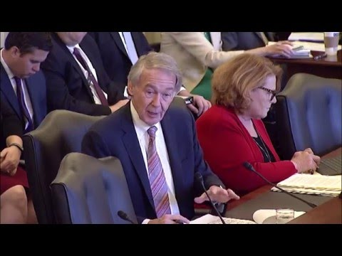 Senator Markey Discusses Small Businesses & Commercial Drones