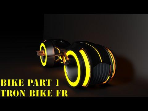 [Cinema 4D] Tuto : #1 Tron Bike, BluePrint / Sculting et Symétrie.