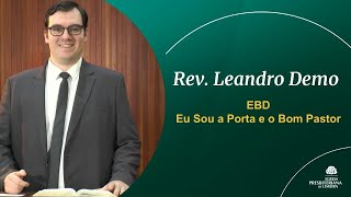 Eu Sou a Porta e o Bom Pastor - EBD 02/05/2021