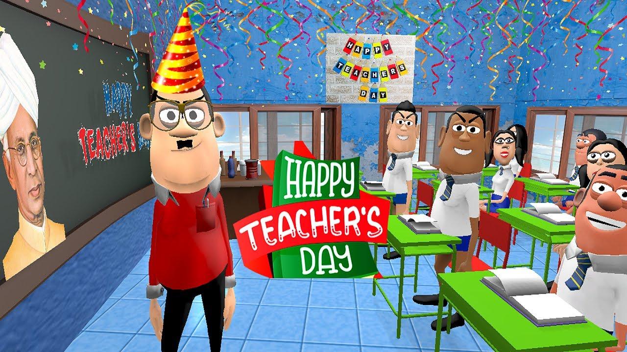 Teacher's Day Special Joke   School ( स्कूल )   Kala Kaddu Funny Comedy Video   Kaddu Joke Classroom