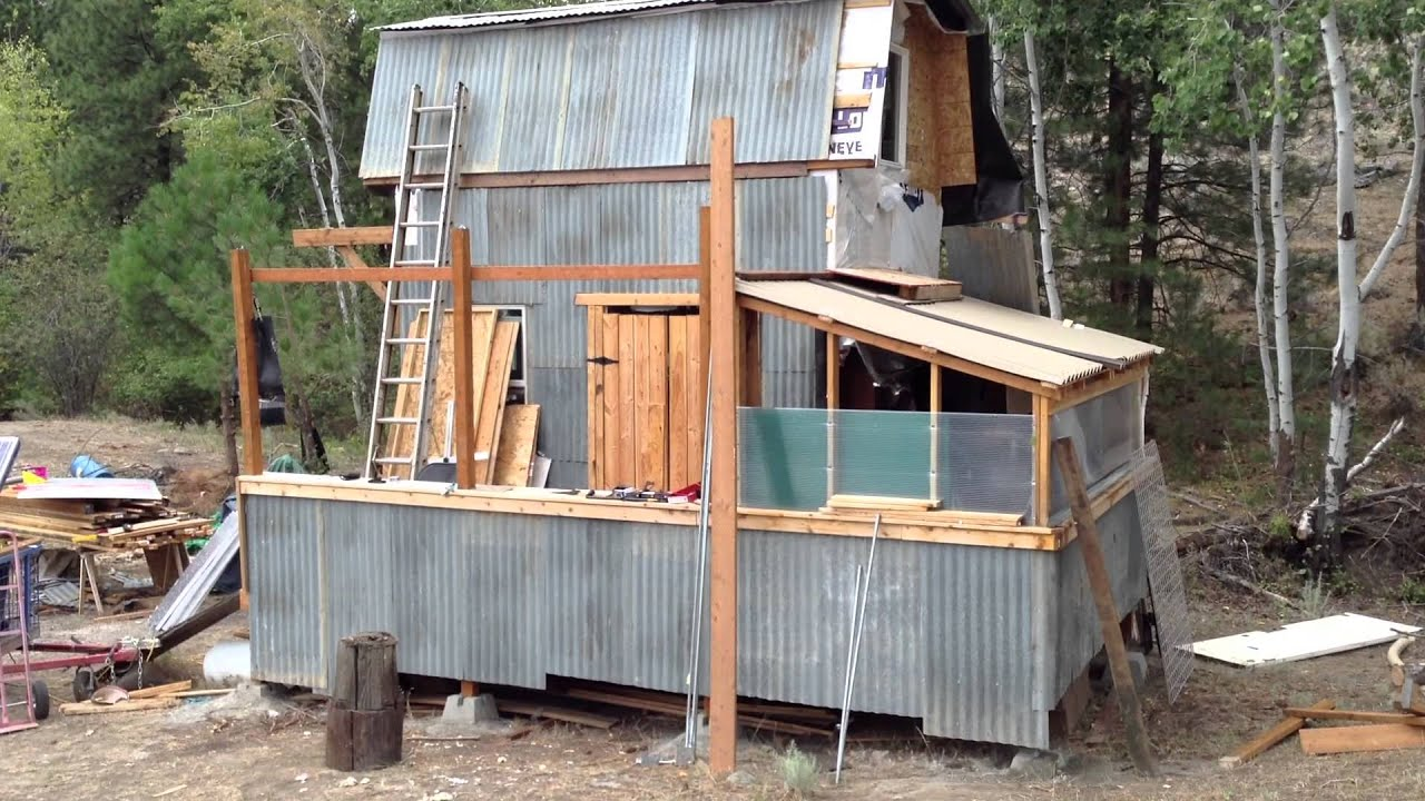 Other Progress On Off Grid Cabin Project Fire Shielding