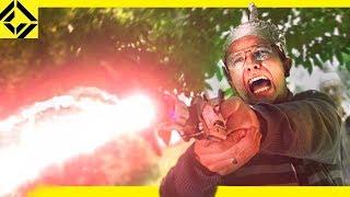 Man Stops Alien Invasion with VFX