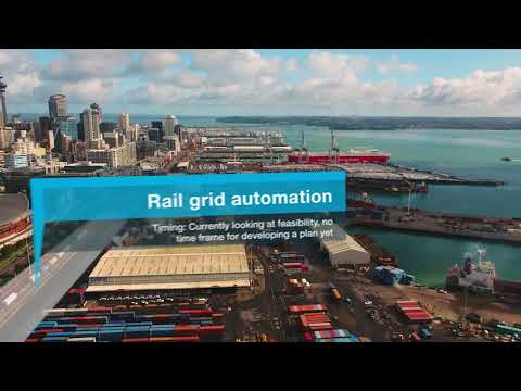 Ports of Auckland Draft 30-yr Master Plan