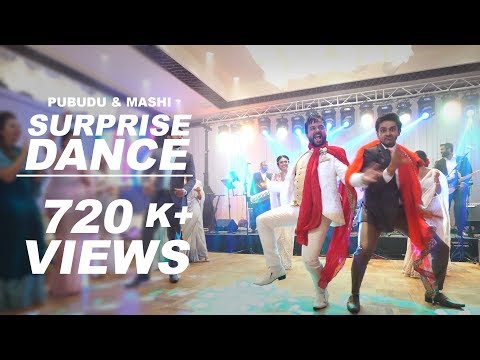 Pubudu and Mashi Wedding | Sri lankan Popular Actors & Actresses | Surprise Dance