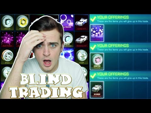 BLACK MARKETS, PAINTED EXOTICS & MORE! | MOST VALUABLE BLIND TRADING With Fans In Rocket League #3