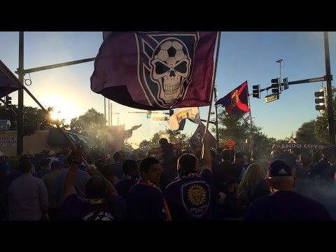 Orlando City Soccer Club March to New Stadium Groundbreaking