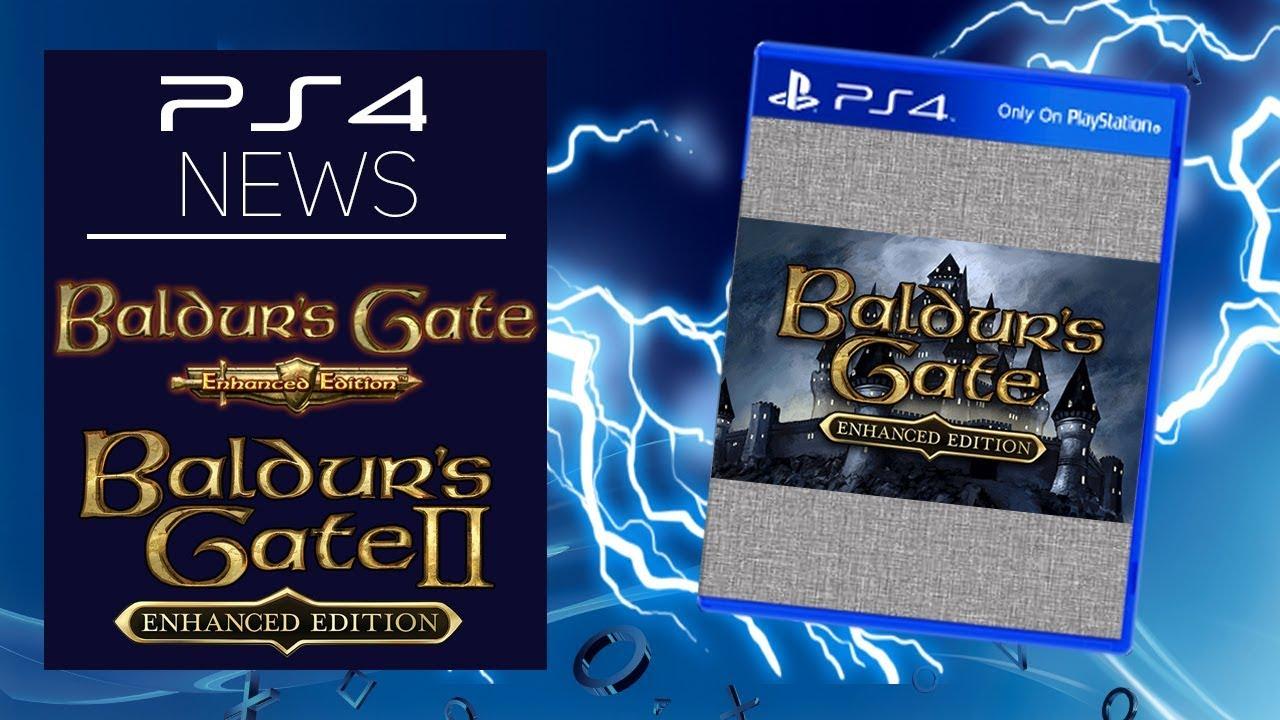 Ps4 News Baldur S Gate Enhanced Edition Playstation 4