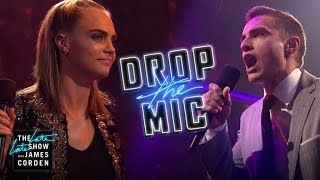 Drop the Mic w/ Cara Delevingne & Dave Franco by : The Late Late Show with James Corden