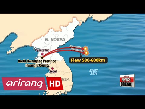 N. Korea fires three ballistic missiles as show of force against THAAD system deployment decision