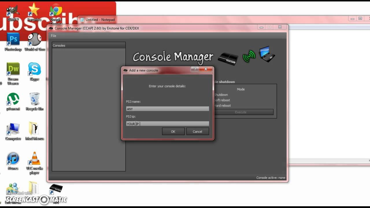 console manager 2.60