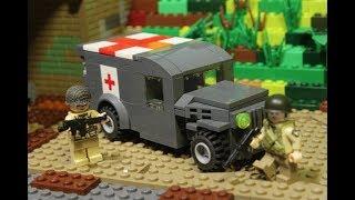 Lego WW2 Машина медика армии США лего совместимая обзор