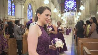 Wedding at Cathedral Basilica of the Sacred Heart in Newark NJ, 07104 By Alex Kaplan