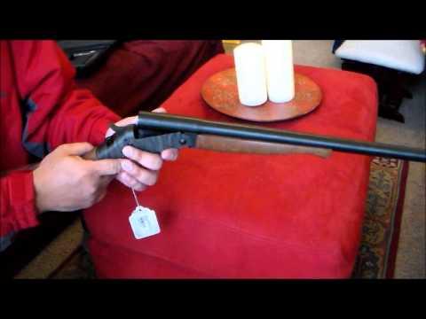H & R single shot 12g shotgun