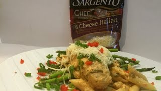 Sargento Cheese Inspired Chicken With Penne
