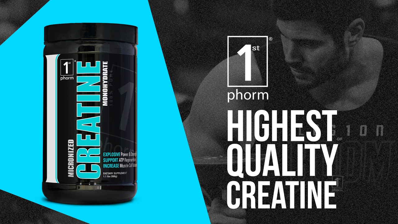 1st Phorm Micronized Creatine Monohydrate Review - Highest Quality Creatine  Available