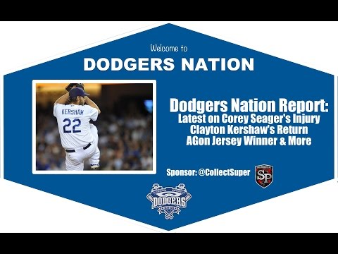 Dodgers Nation Report: Latest on Corey Seager's Injury, Clayton Kershaw's Return and More