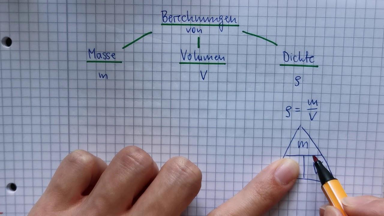 Berechnung Dichte