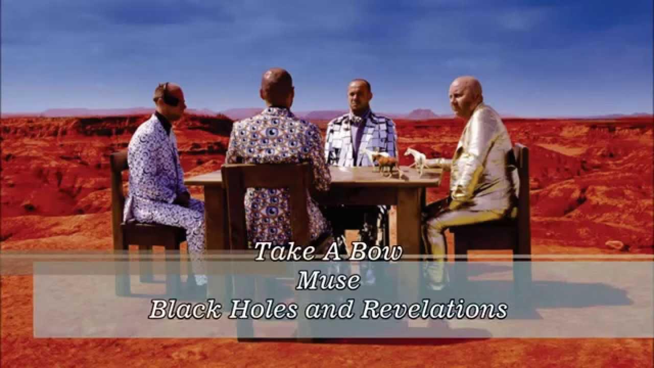 black holes and revelations