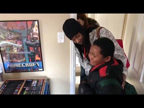 Homeless Boy Finally Gets Dream Home