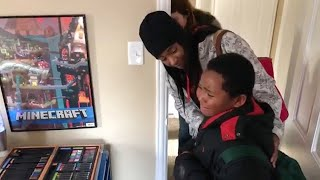 Homeless Boy Finally Gets Dream Home