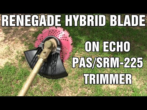 renegade-brush-blade-and-echo-trimmer-conversion-kit-installation---review