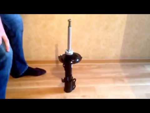 Как работают передние стойки видео