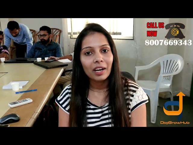 Find out What Amruta says about Digigrow Hub Bootcamp Training