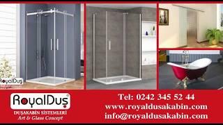 Duşakabin Fiyat ve Modelleri Royal Duş 0242 345 52 44