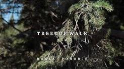 The Tree Top Walk in Rogla, Slovenia