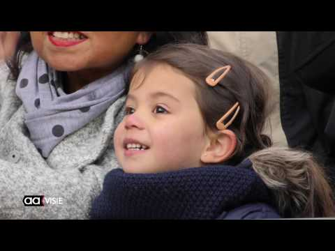Aankomst Sinterklaas in de haven van Almelo 2016