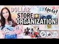 DOLLAR STORE ORGANIZATION IDEAS! | Alexandra Beuter