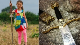 7 Year Old Girl Finds 'EXCALIBUR' in Legendary Lake thumbnail