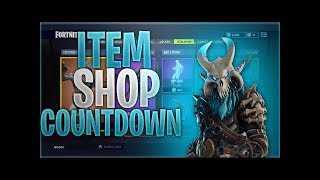 New Fortnite item shop countdown! May 31st New skins! Fortnite item shop