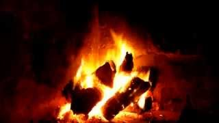Repeat youtube video PARA DORMIR JUNTO AL FUEGO !!! 2 HORAS - FIREPLACE CHIMENEAS ON LINE SIN MUSICA !!!
