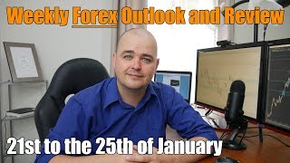 Weekly Forex Review - 21st to the 25th of January