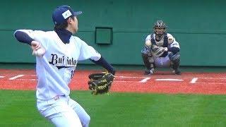金子千尋 七色変化球健在!2018シーズンへラスト調整!【baseball fan club.】