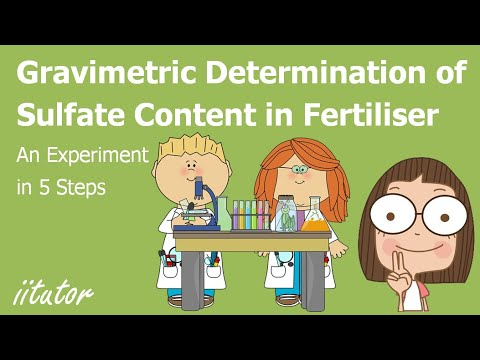√ Gravimetric Determination Of Sulfate Content | Chemical Monitoring And Management - Chemistry