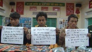 Quảng Bình bắt 3 đối tượng Lào vận chuyển pháo lậu qua biên giới