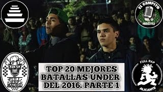 Top 20 Mejores Batallas Underground Del 2016. #1
