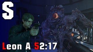 [Speedrun World Record] Leon A Standard 52:17 Resident Evil 2 Remake | 120FPS