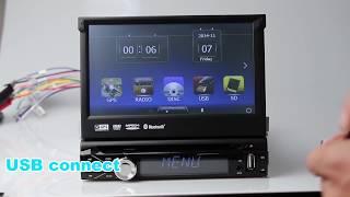 1 Din Windows CE universal car radio - 102