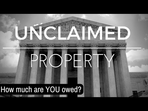 Unclaimed Property | Money You're Missing Out On