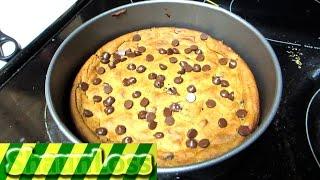 Deep Dish Cookie Pie: Healthy Alternative