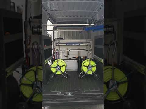 Latest pressure washing / window cleaning van #shorts