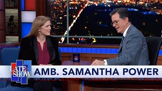Amb. Samantha Power: Putin Got A Very High Return On His Investment In Donald Trump