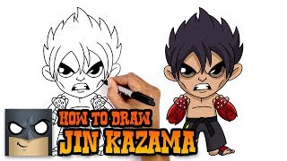 How to Draw Jin Kazama | Tekken