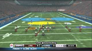 NCAA Football 13 Gameplay: Florida State vs. Florida